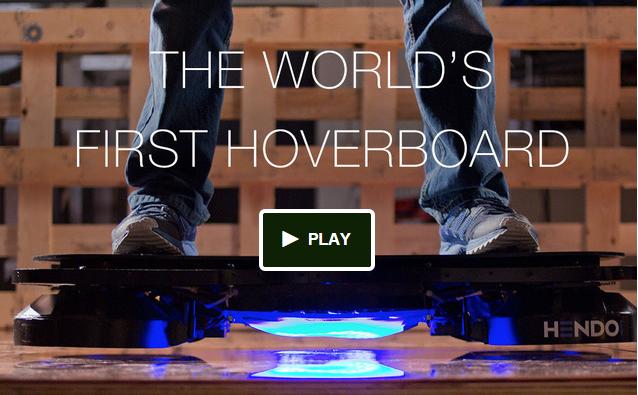 Das erste Hoverboard