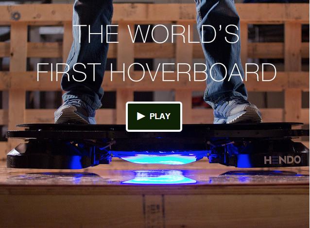 Das erste Schwebe-Skateboard ist da