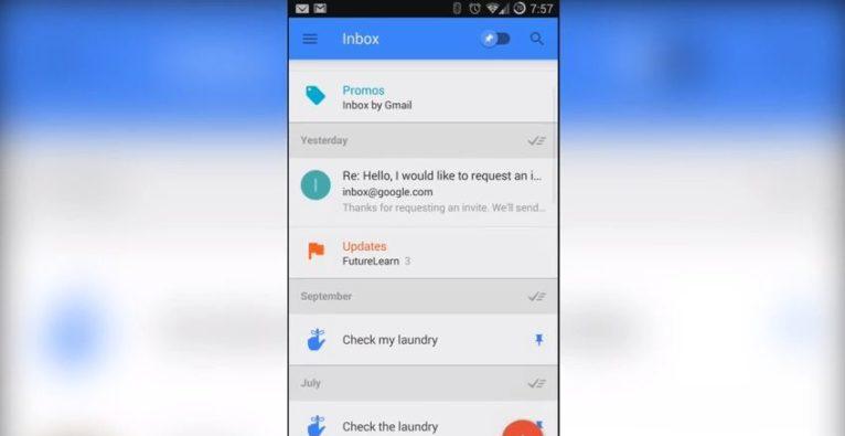 Inbox von Gmail