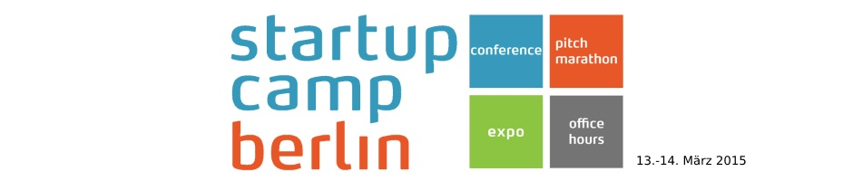 Startup Camp Berlin 2015: 13/14 März, 2015