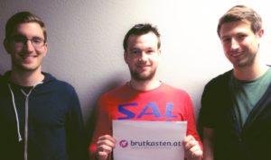 Georg Krispel, Johannes Innerbichler und Christoph Hechenblaikner: die Österreicher arbeiten an CrossCloud.
