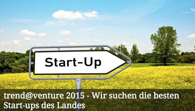 Wettbewerb trend@venture 2015: Bis 16. März 2014 einreichen