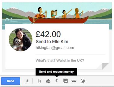 Geld via E-mail senden