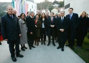 © bmwfw Klausur der Bundesregierung Ende März 2015 in Krems/Donau.