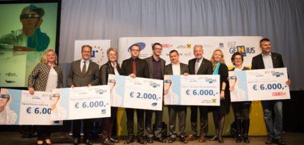 riz up GENIUS: Niederösterreich sucht seine genialen GründerInnen