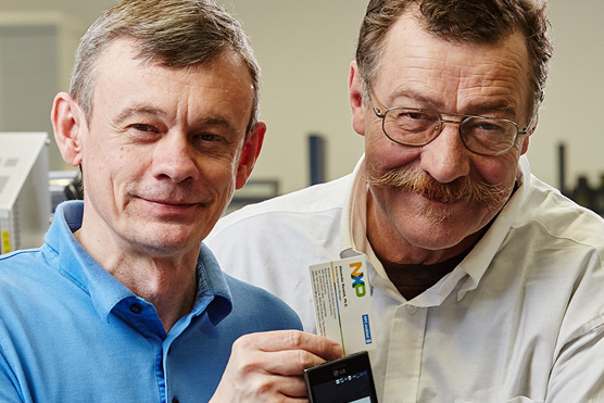 NFC-Erfinder aus Österreich für Europäischen Erfinderpreis nominiert
