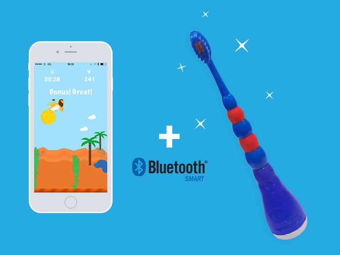 Playbrush: Zwei Wiener machen Zahnbürste zu Spiele-Controller