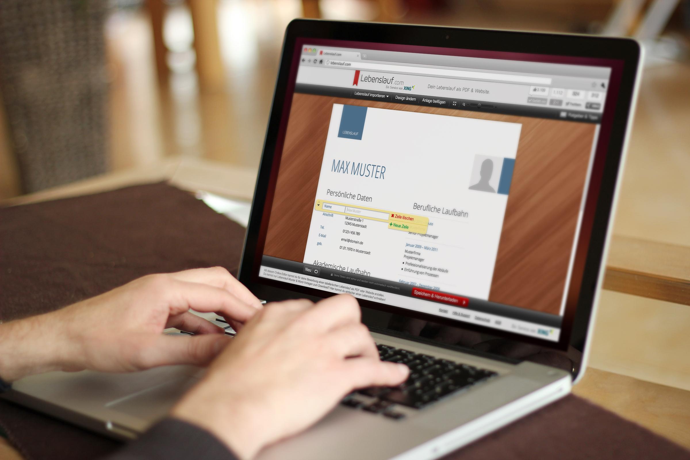 FOCUS launcht Online Lebenslauf-Editor: Was muss ein CV beinhalten ...