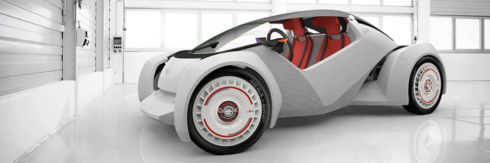 Das erste Auto aus dem 3D-Drucker macht Amerikas Straßen unsicher