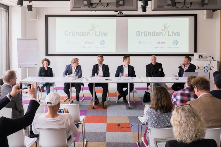 """Update!//Google, E.ON und VW starten Startup-Förderprogramm """"Gründen Live"""""""