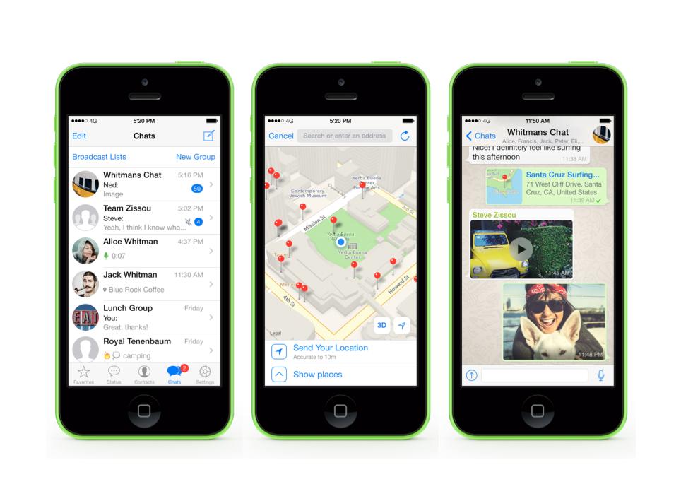 Messenger-Dienst WhatsApp fällt beim Datenschutz durch