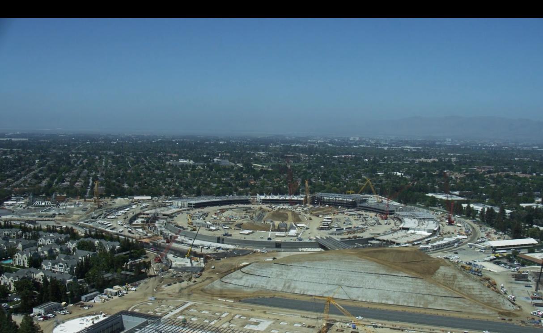 """Eindrucksvolle Videoaufnahmen zeigen Apples neues HQ-""""Raumschiff"""""""