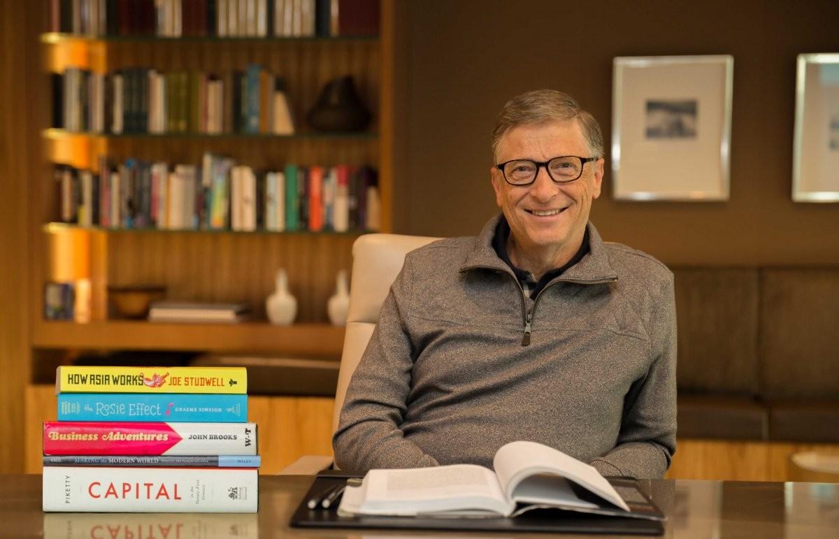 Diese 7 Bücher empfiehlt Bill Gates zum Lesen im Sommer