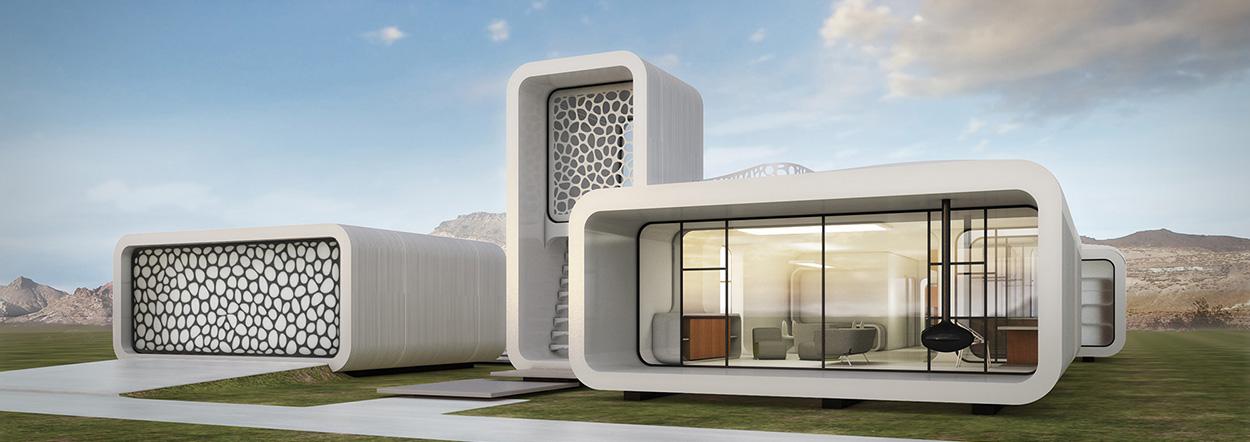 In Dubai werden Bürogebäude ab sofort einfach ausgedruckt