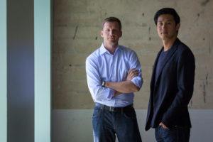 © Rahul Sood Blog: Die Unikrn-Gründer Rahul Sood und Karl Flores.
