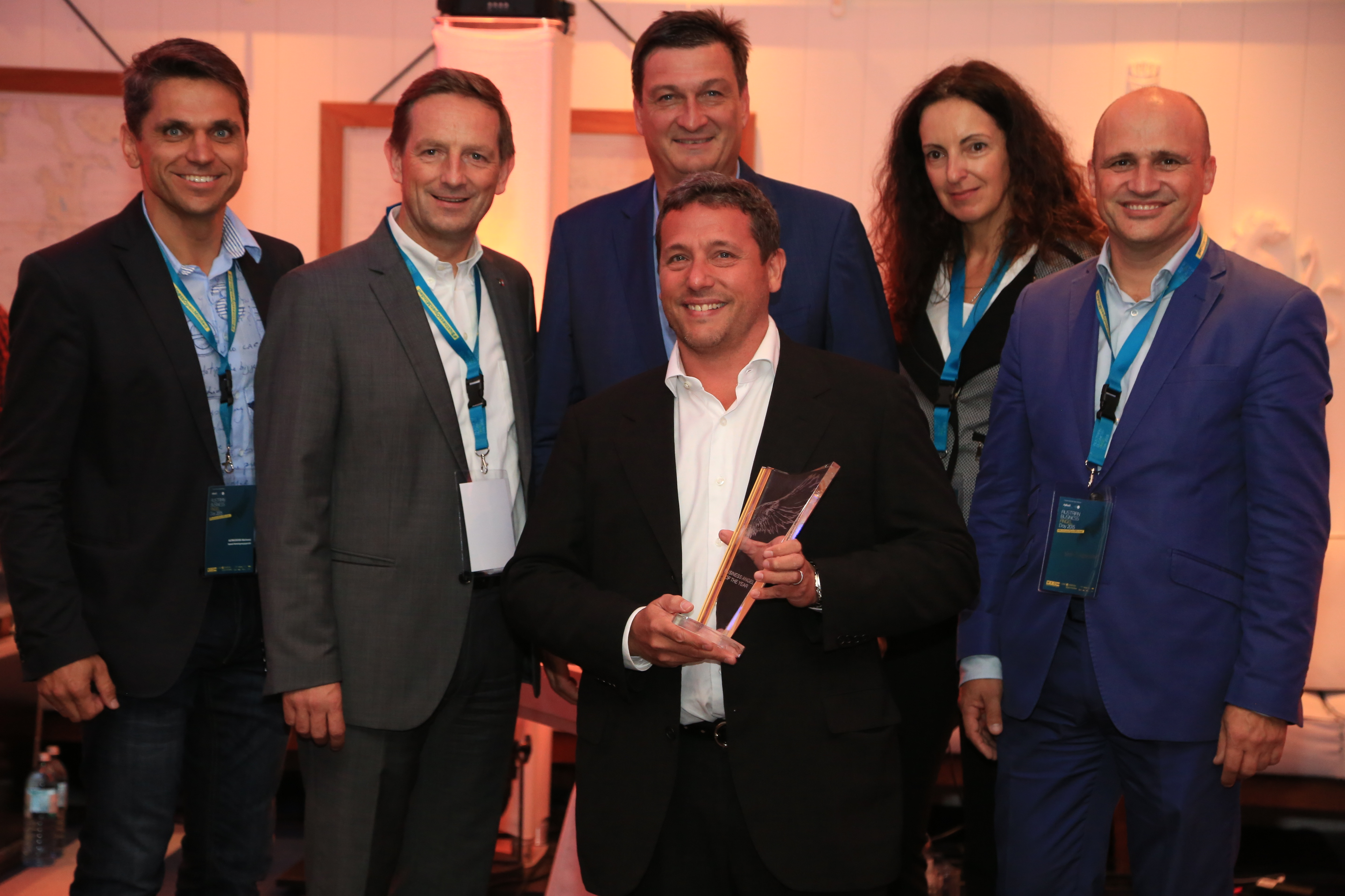Business Angel of the Year 2015 ist Nuki-Investor René Berger