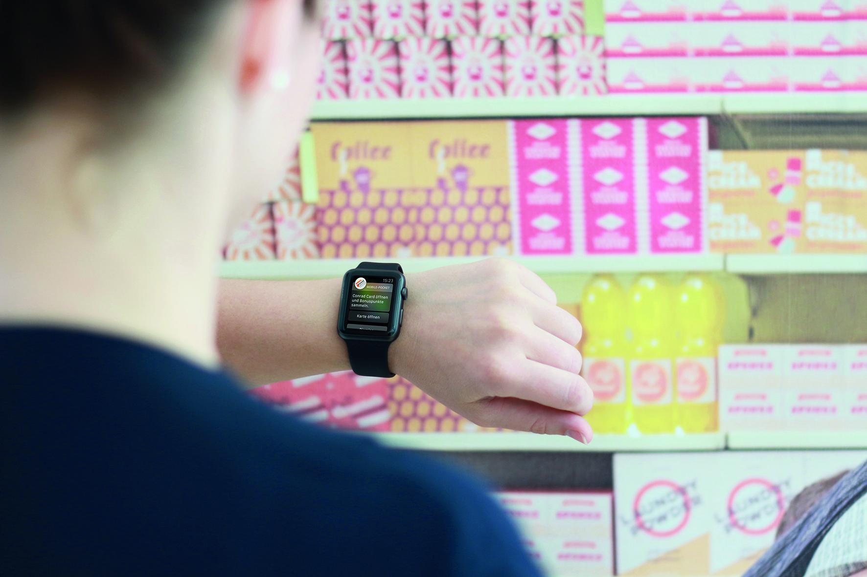 Dank Bluesource aus Oberösterreich weiß die Apple Watch, wo man einkauft