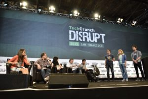 TechCrunch Disrupt SF 2015. Photo by Jeff Bottari for TechCrunch