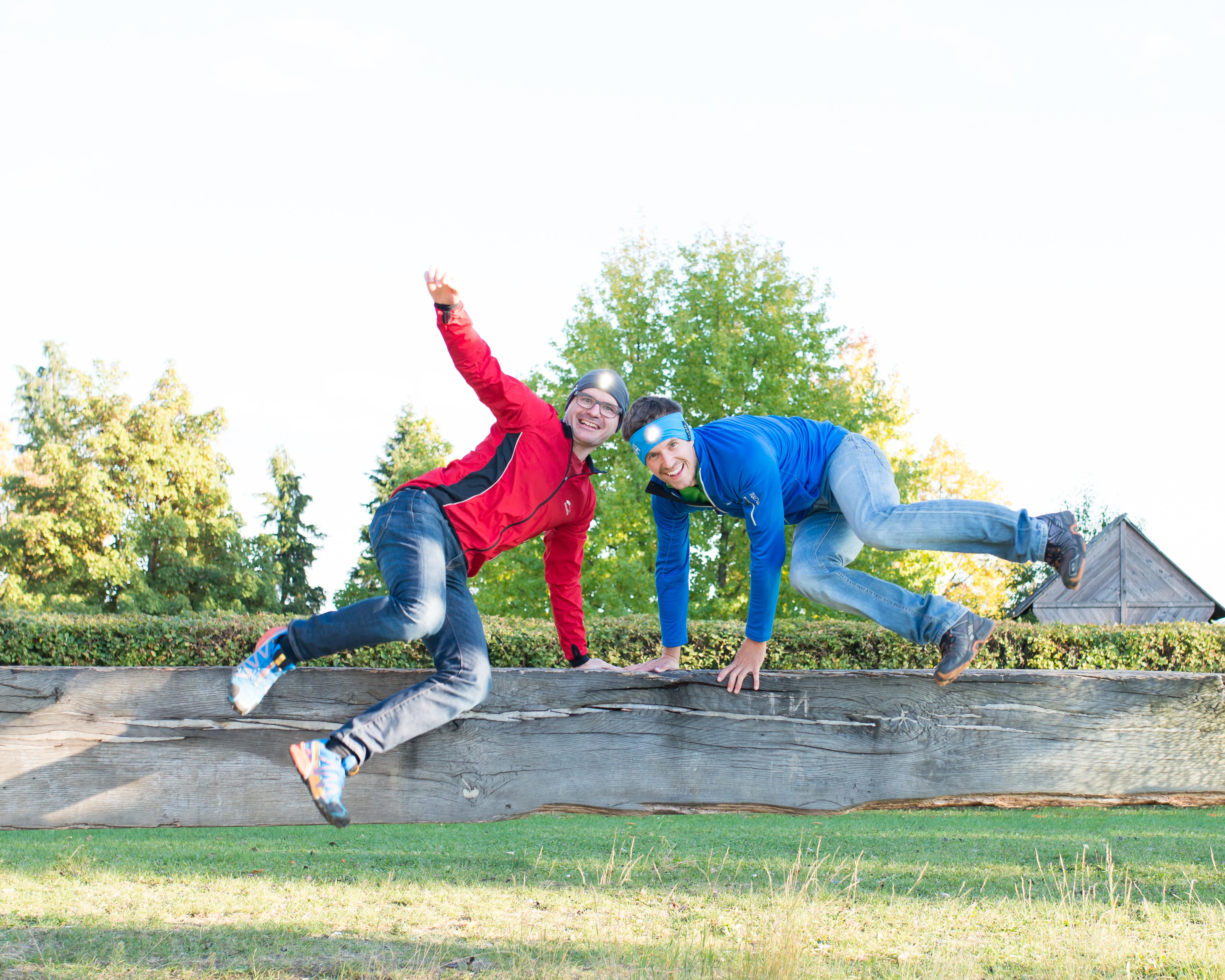 Für Sport-Junkies: Mit LUMA ACTIVE macht Joggen auch im Winter Spaß