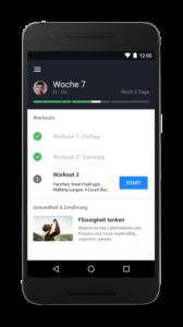 (c) Runtastic, Die neue Results-App