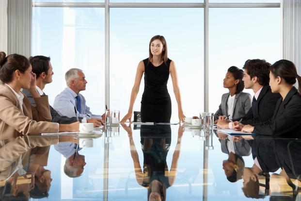 Seltener Insolvenz durch Führung von Frauen