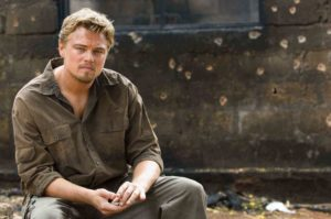 "(c) Screenshot fanpop.com - Leonardo DiCaprio im Film ""Blood Diamond"". Jetzt investiert er in nachhaltige Diamanten."
