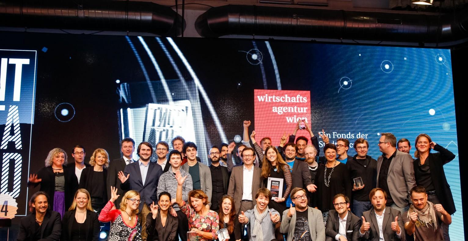 (c) Wirtschaftsagentur. Die Content-Award-Sieger des Vorjahres