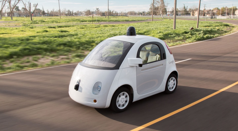 """""""Schleich""""-Werbung: Googles selbstfahrendes Auto angehalten"""