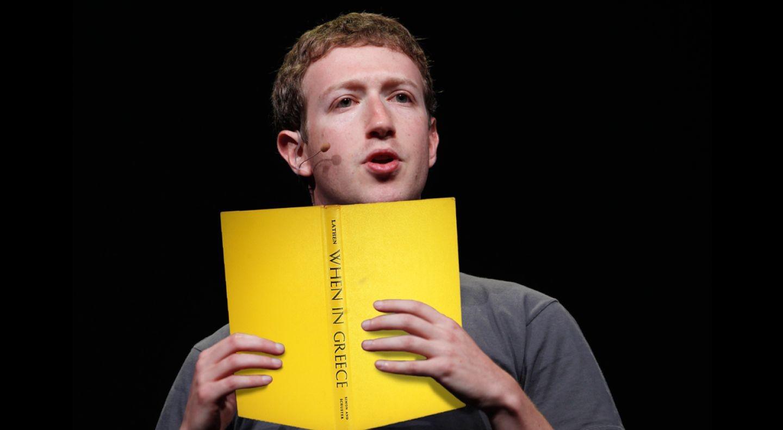 Diese 9 Bücher gefallen Mark Zuckerberg