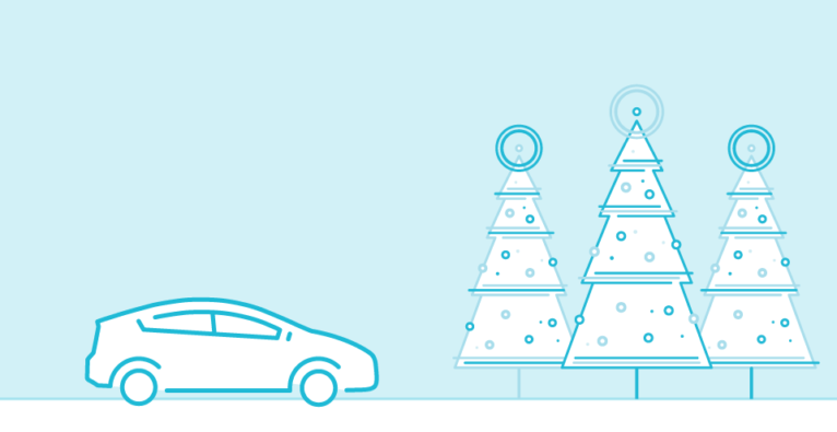 Uber liefert Christbäume im dreistelligen Bereich aus