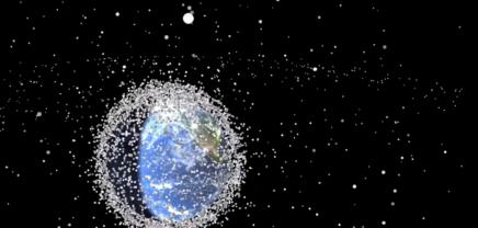 Faszinierendes Video: Weltraumschrott im Zeitraffer