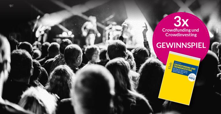 Gewinnspiel: Buch über Crowdfunding und Crowdinvesting