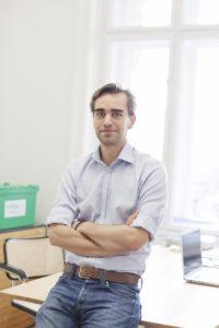 """GoFoxBox-Gründer Ferdinand Schönburg: """"Bin ein Typ, der Dinge verbessern will."""" (c) GoFoxBox"""