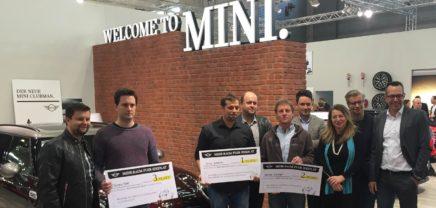 Verleihung des MINI Awards: Wie viele Ideen passen in ein Auto?