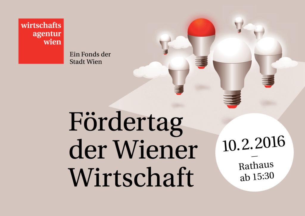 (c) Wirtschaftsagentur. Am 10.Februar findet der Fördertag im Wiener Rathaus statt.
