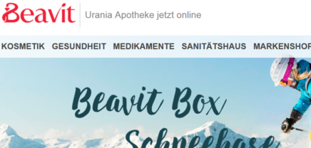 """""""Beavit Box"""": Online-Apotheke setzt weiter auf Überraschung"""