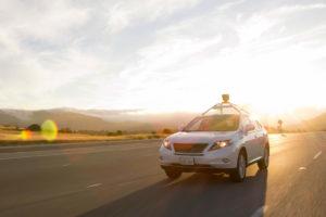 lexus google selbstfahrendes auto