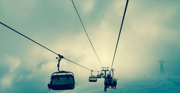 Ski-Startup-Events: Dieser Pitch findet am Sessellift statt