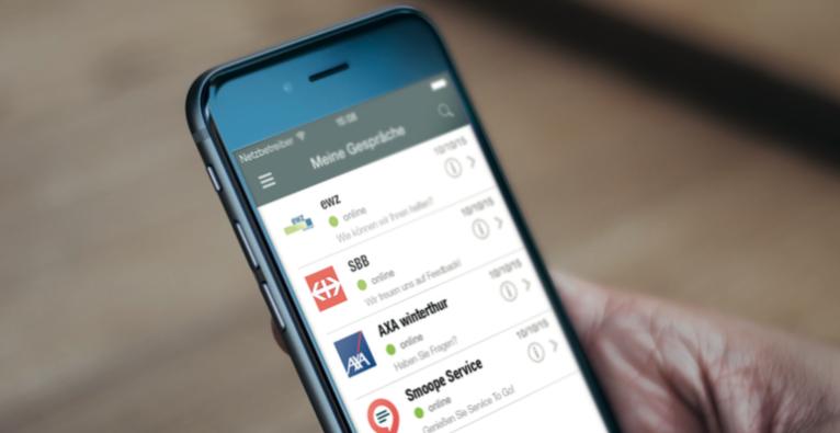 Der B2C-Messenger Smoope startet in der Schweiz. (C) Smoope