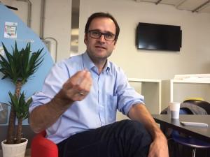 Dömötör: Startup-Gründer sollten sich fragen, welches Problem ihr Produkt löst. (c) Florian Godovits