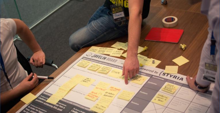 """Ausmalen erleichtern: """"Die AbPicker"""" gewinnen Lean Startup Machine in Graz"""