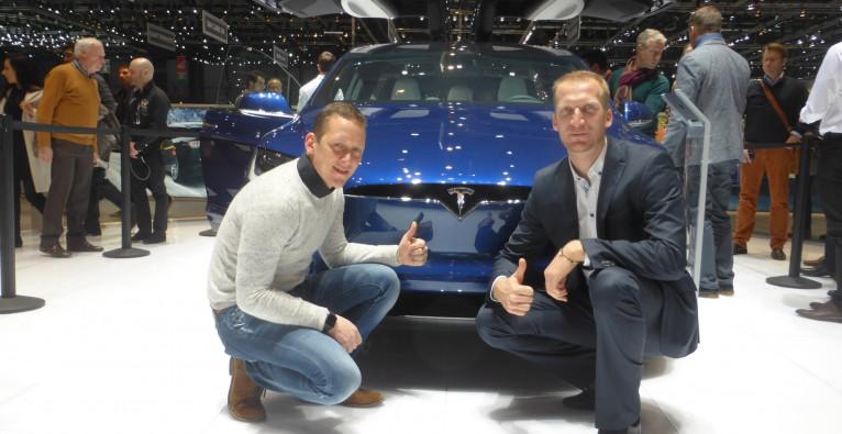 Ecar-Rent-Gründer zu Tesla Model-3-Präsentation eingeladen