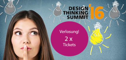 Design Thinking Summit: Brutkasten verlost 2 Tickets