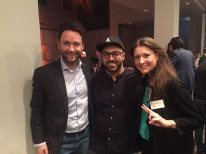 Brutkasten-Founder Dejan Jovicevic, Whatchado-Gründer Ali Mahlodji, Chefredakteurin Brutkasten Theresa Breitsching