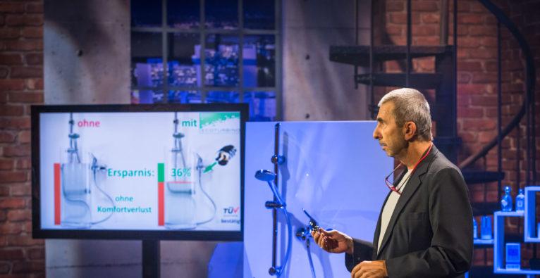 2 Minuten 2 Millionen: 300.000 Euro für Waterreducer Ecoturbino