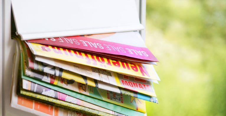 Werbung: Flugblätter beliebt – Online-Tools holen aber stark auf