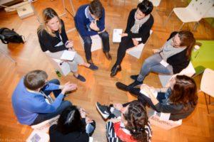 (c) Nikolaus Kurnik: Design Thinking Summit - gemeinsam an konkreten Lösungen arbeiten.