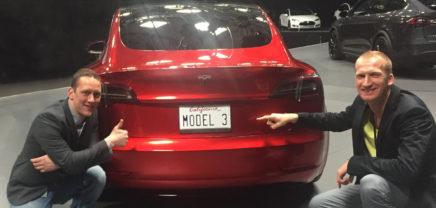 Tesla Model 3 vorgestellt – bereits über 270.000 Reservierungen