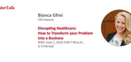 I²cFounderTalk Disrupting Healthcare