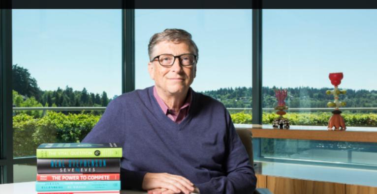Bill Gates Lesetipps: Inspirierendes Gehirnfutter für heiße Tage